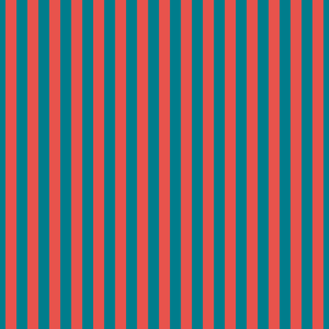 stripes_red_blue fabric by colorfulartgirl on Spoonflower - custom fabric