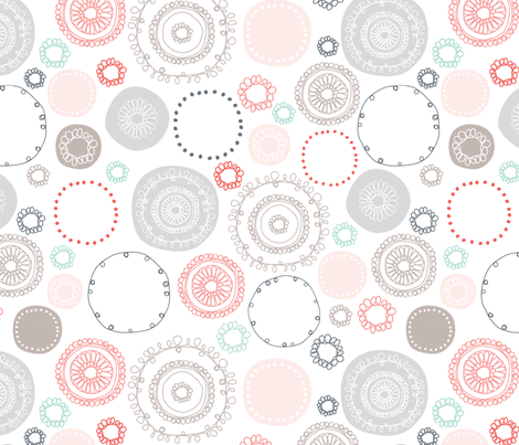 Sherbet and Ash fabric by kelly_ventura on Spoonflower - custom fabric
