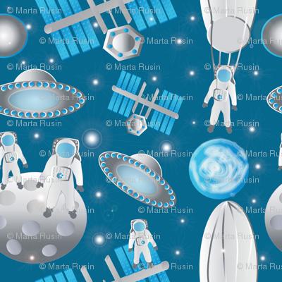 Spacemen featuring Fearless Felix 2