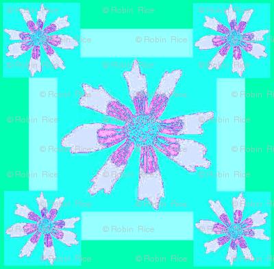 Flower Square Dance II