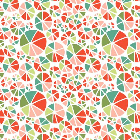 Beach Ball Burst fabric by holly_helgeson on Spoonflower - custom fabric