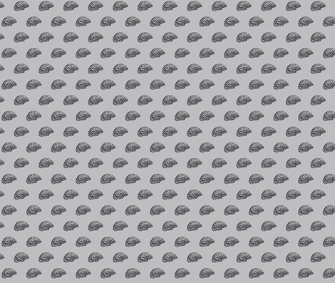 grey matter fabric by pinkbrain on Spoonflower - custom fabric