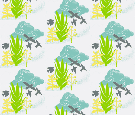 after the storm fabric by fallingladies on Spoonflower - custom fabric