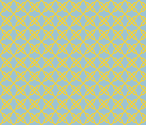 Twinkle Knot fabric by gabrielle&grete on Spoonflower - custom fabric