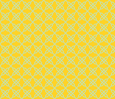Starry Knot fabric by gabrielle&grete on Spoonflower - custom fabric