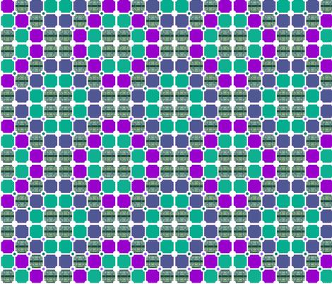 Tartan Twist Tiles fabric by wild_berry on Spoonflower - custom fabric