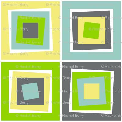 Skewed Cubes Apple