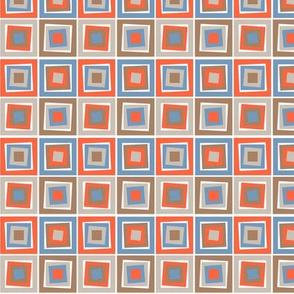 Skewed Cubes Dusk
