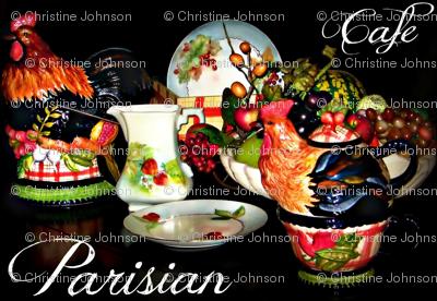 Chateau Fruit / parisian cafe