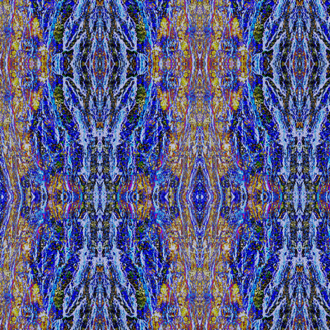 Majestic Oak  -  blue/multi-color bark fabric by materialsgirl on Spoonflower - custom fabric
