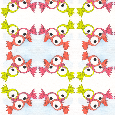 Eye Candy fabric by whimsikate on Spoonflower - custom fabric