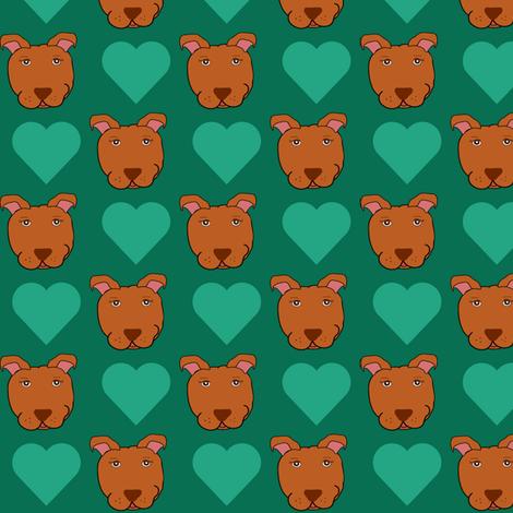 Logan Love  fabric by missyq on Spoonflower - custom fabric