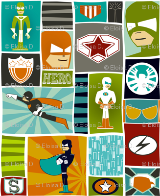 Cool Comic Book Heroes