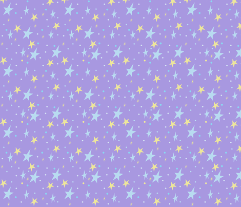 Trixie's Starry fabric by munchforlunch on Spoonflower - custom fabric