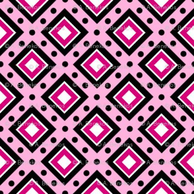 Dotty Boxes - Pink