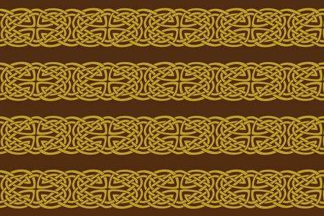 Belt of an arrow slinging clan fabric by ani_bee on Spoonflower - custom fabric