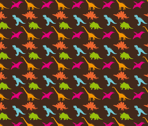 Dino Land fabric by valmo on Spoonflower - custom fabric