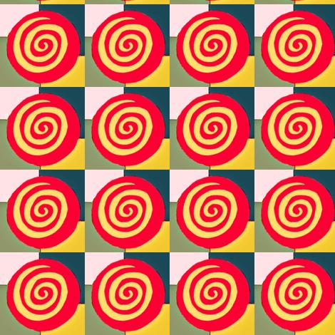 Bullseyes fabric by boris_thumbkin on Spoonflower - custom fabric