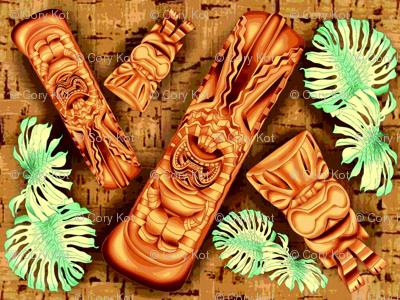 Tiki Monstera Hawaiiana