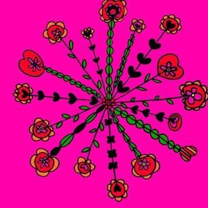 Floral_Spokes_Red_Pink__Orange_Green