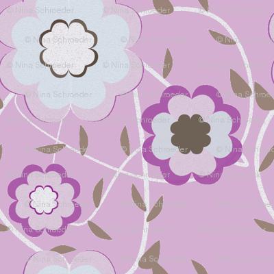 Heartflowers-purple