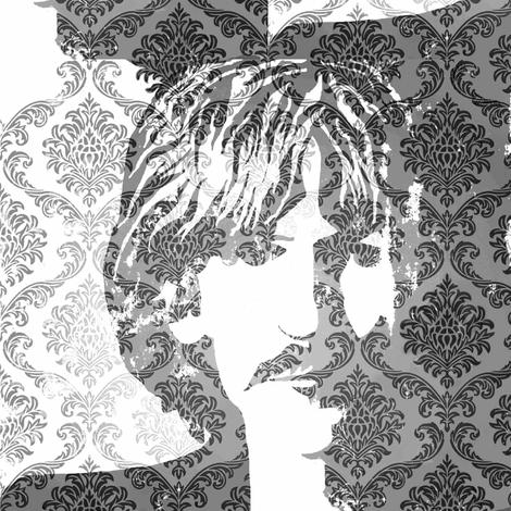 Rocker Brocade fabric by paragonstudios on Spoonflower - custom fabric