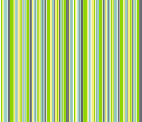 Straight-Up Citrus Stripe fabric by wild_berry on Spoonflower - custom fabric