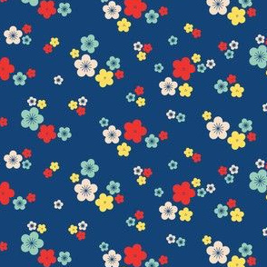 spring blossom bright in kyanite