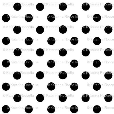 small dots black and white