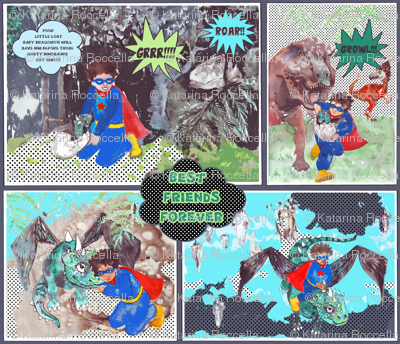 dragon rescue comic book