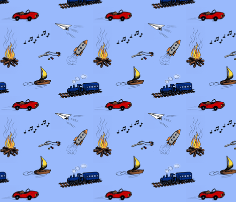 Toys & Games fabric by gail_mcneillie on Spoonflower - custom fabric