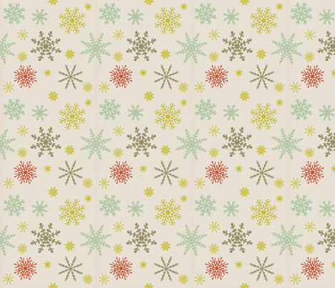 Merry and Bright 100 fabric by lisabarbero on Spoonflower - custom fabric