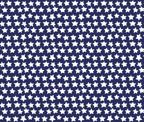stars fabric by katarina on Spoonflower - custom fabric