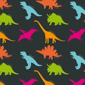 Dino land grey