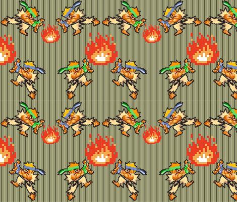 JoshR_hero fabric by magicfrog13 on Spoonflower - custom fabric