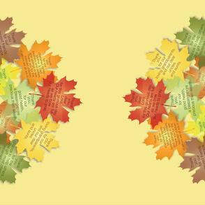 Thanksgiving Prayer Tablecloth