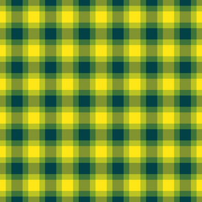 plaid yellow blu