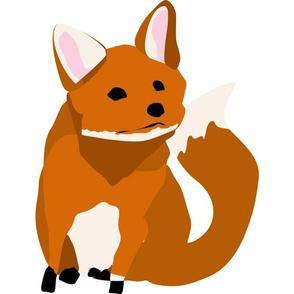 Baby Fox — 15x15 Wall Decal