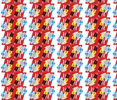 SuperCloudGuy Stripe fabric by summerdaystudio on Spoonflower - custom fabric