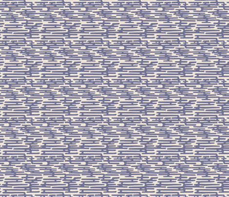Krom - Blue fabric by feliciadavidsson on Spoonflower - custom fabric