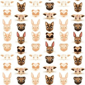 Animal Masks ~ Daytime