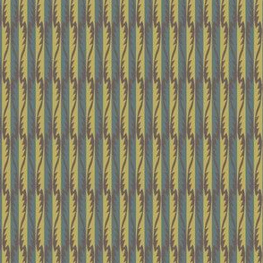Gypsy Leaf Stripe muted