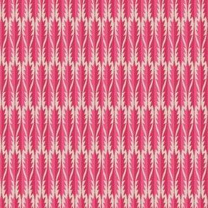Gypsy Leaf Stripe pinks