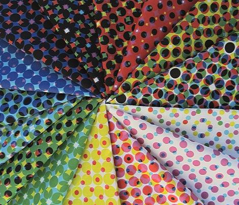CMYK halftone dots - grey