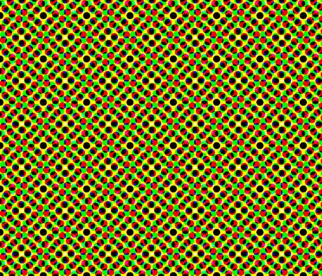 CMYK halftone dots - khaki fabric by weavingmajor on Spoonflower - custom fabric