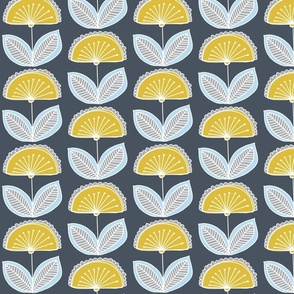semi_circle_flower_pattern