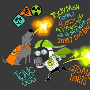 Tootyman Toxic Gas