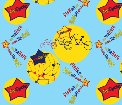 save_the_world fabric by tamnoona on Spoonflower - custom fabric