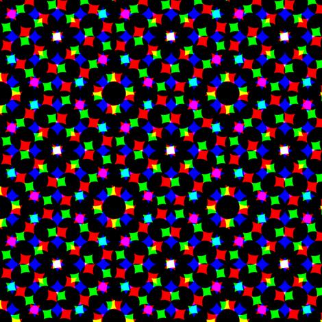 CMYK halftone dots - dark grey fabric by weavingmajor on Spoonflower - custom fabric