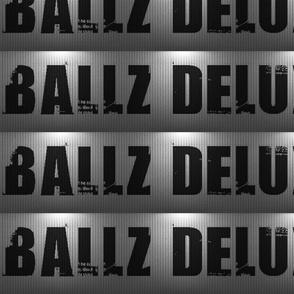 Ballz Deluxe correct logo